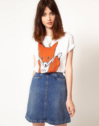Asos Simeon Farrar Exclusive to Fantastic Fox T-Shirt