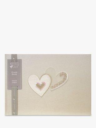 Deva Designs Hearts Guest Book