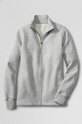 Lands' End Women's Regular Full-zip Sweatshirt