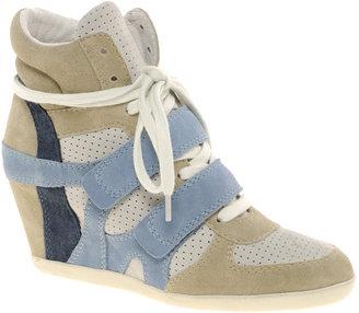 Ash Bea Color Block Wedge Sneakers