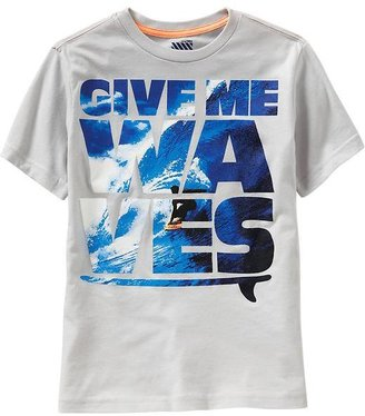 Old Navy Boys Surf Graphic Tees