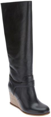 Maison Martin Margiela knee high wedge boot