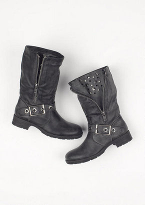 Delia's Pink And Pepper Thunder Boot
