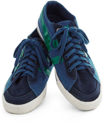 Gola Me, Myself, and Sky Sneaker in Dark Blue