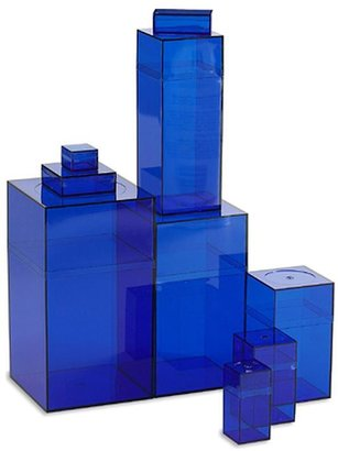 Container Store Amac Box Blue