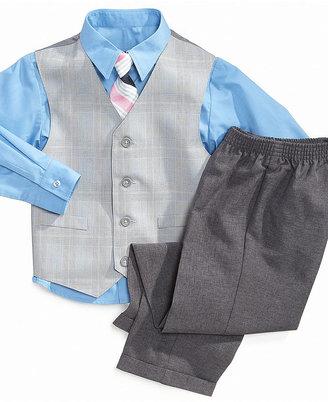 Nautica Set, Little Boys Glen Plaid Suit Set