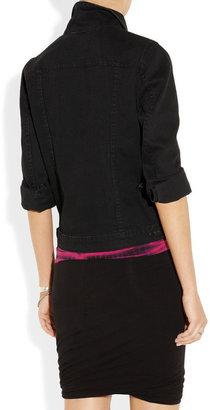 Proenza Schouler Washed cotton-blend denim jacket