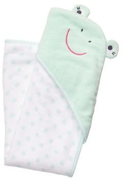 Carter's Frog Hooded Towel