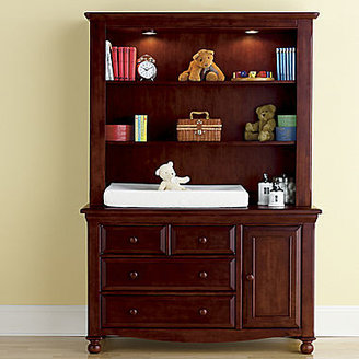 JCPenney Bedford Baby Monterey Changing Table or Hutch - Cherry