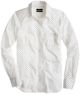 J.Crew Boy shirt in triangle dot