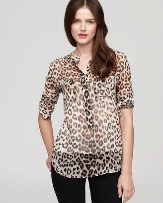 Equipment Blouse - Ava Classic Leopard Print