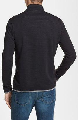 HUGO BOSS 'Piceno 34' Quarter Zip Sweater