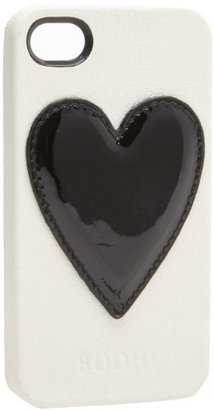 Bodhi Heart Leather Bumper For iPhone 4 B2716289AWHB Wallet