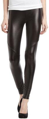 Romeo & Juliet Couture Faux-Leather Leggings