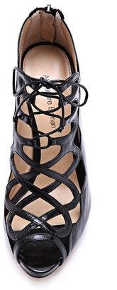 Alexandre Birman Tied Up Heeled Sandals