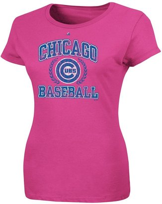 Majestic chicago cubs fresh & exciting tee - women