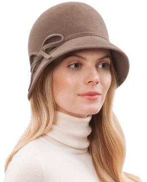 Eric Javits Rabbit Fur Bucket Hat