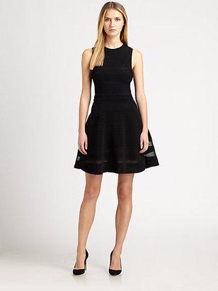 M Missoni Sleeveless Rib-Stitch Dress