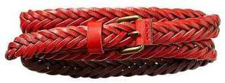 Gap Braided contrast edge belt