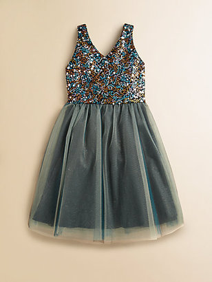 Un Deux Trois Girl's Party Dress