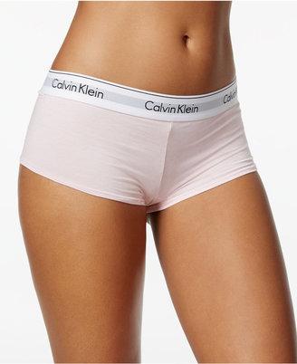 Calvin Klein Modern Cotton Logo Boyshort F3788 $22 thestylecure.com