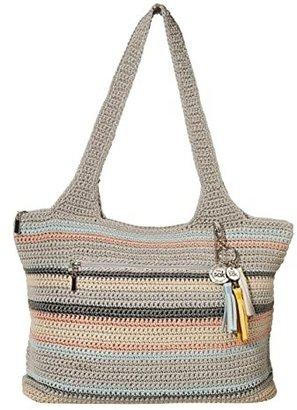 The Sak Casual Classics Large Tote (Coastal Stripe) Tote Handbags