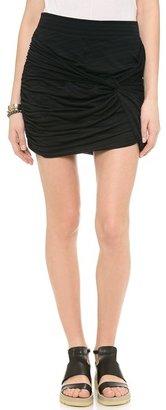 Free People Twistiful Miniskirt