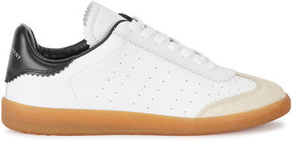 Isabel Marant Bryce White Leather Sneakers