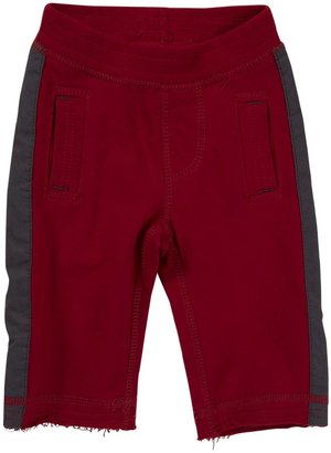 Tea Collection Side Stripe Pant - China Red-3-6 Months