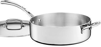 Cuisinart French Classic Tri-Ply Stainless Steel 5.5 Qt. Covered Saute Pan