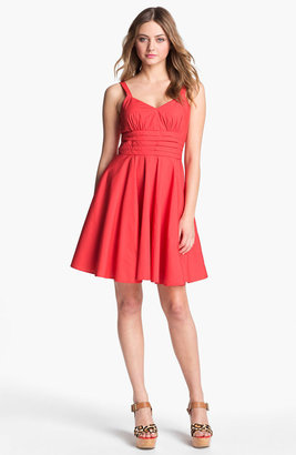 BB Dakota 'Maida' Cotton Fit & Flare Dress