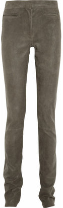 Haider Ackermann Stretch-leather leggings