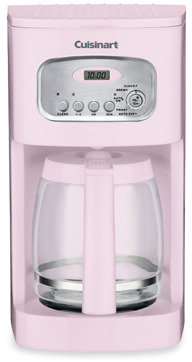 Cuisinart Pink 12-Cup Programmable Coffee Maker