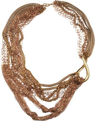 Nicole Romano Multi Layered Short Necklace