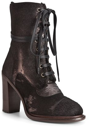 UGG Collection Lace Up Boots - Pierra High Heel