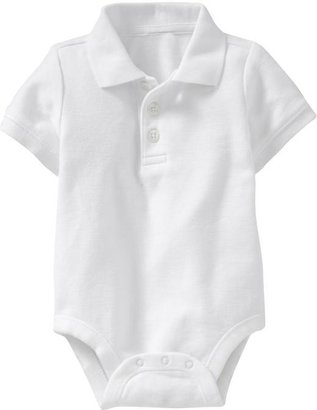 Old Navy Pique-Polo Bodysuits for Baby