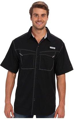 Columbia Low Drag Offshoretm S/S Shirt (Black) Men's Short Sleeve Button Up