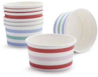 Sur La Table Meri Meri® Striped Ice Cream Cups, Set of 8