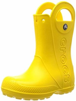 Crocs (クロックス) - [クロックス] レインブーツ ハンドル イット レイン ブーツ キッズ Yellow C6(14 cm)