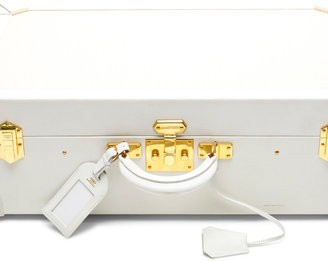 Gulliver Heritage Auctions Special Collection Hermes White & Crinoline Espace Suitcase