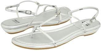 Stuart Weitzman Itsybitsy (Silver Specchio) - Footwear