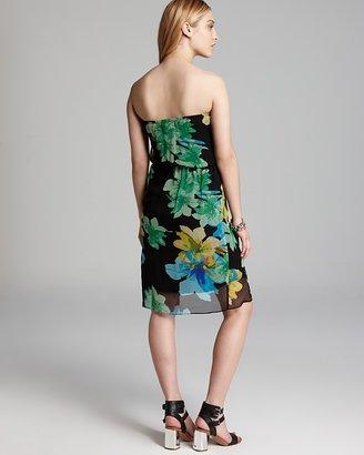 Ella Moss Dress - Hibiscus Floral Tulip
