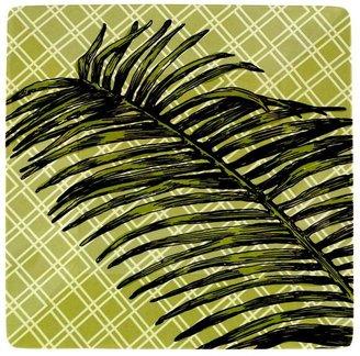 Sonoma outdoors TM palm green melamine salad plate
