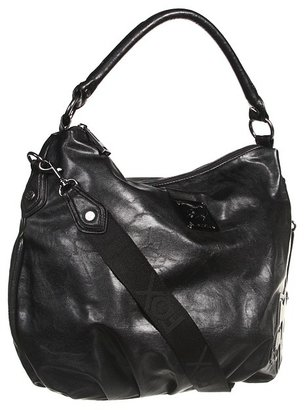 Fox Glimmer Hobo (Black) - Bags and Luggage