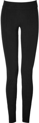 Helmut Lang Jersey Reflex Leggings in Black