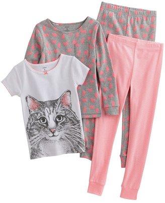 Carter's cat pajama set - girls