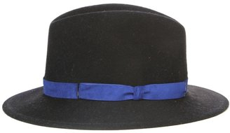 Eugenia Kim Theo Fedora Hat With Suede Trim