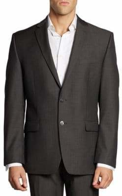 Calvin Klein Classic-Fit Wool Jacket