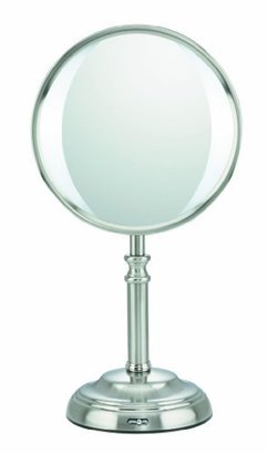 Elite Collection by Conair Variable LED Lighting Mirror, Satin Nickel Finish $67.04 thestylecure.com