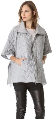 Maison Martin Margiela Quilted Poncho